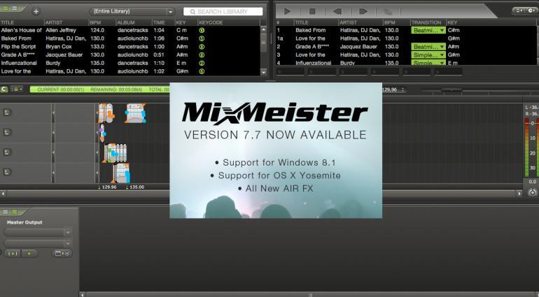 MixMeister on Twitter: