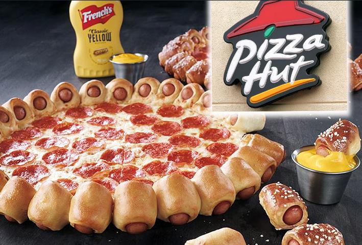 hot dog crust pizza hut