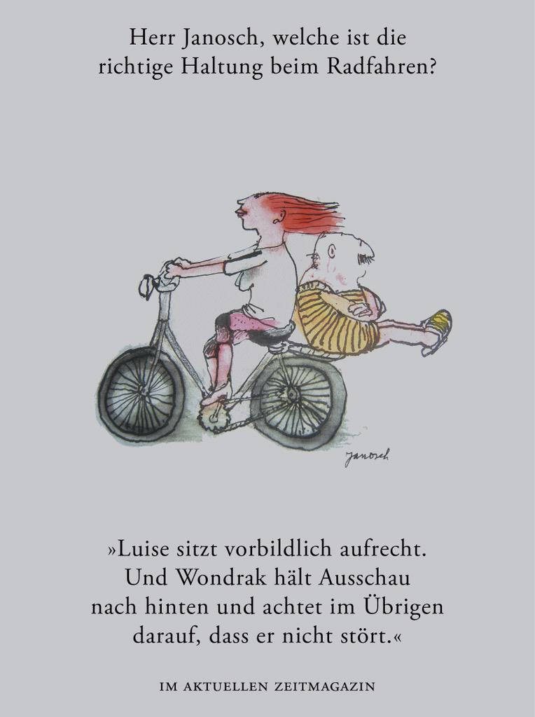 zeitmagazin on twitter herr janosch welche ist die richtige haltung beim radfahren http t. Black Bedroom Furniture Sets. Home Design Ideas