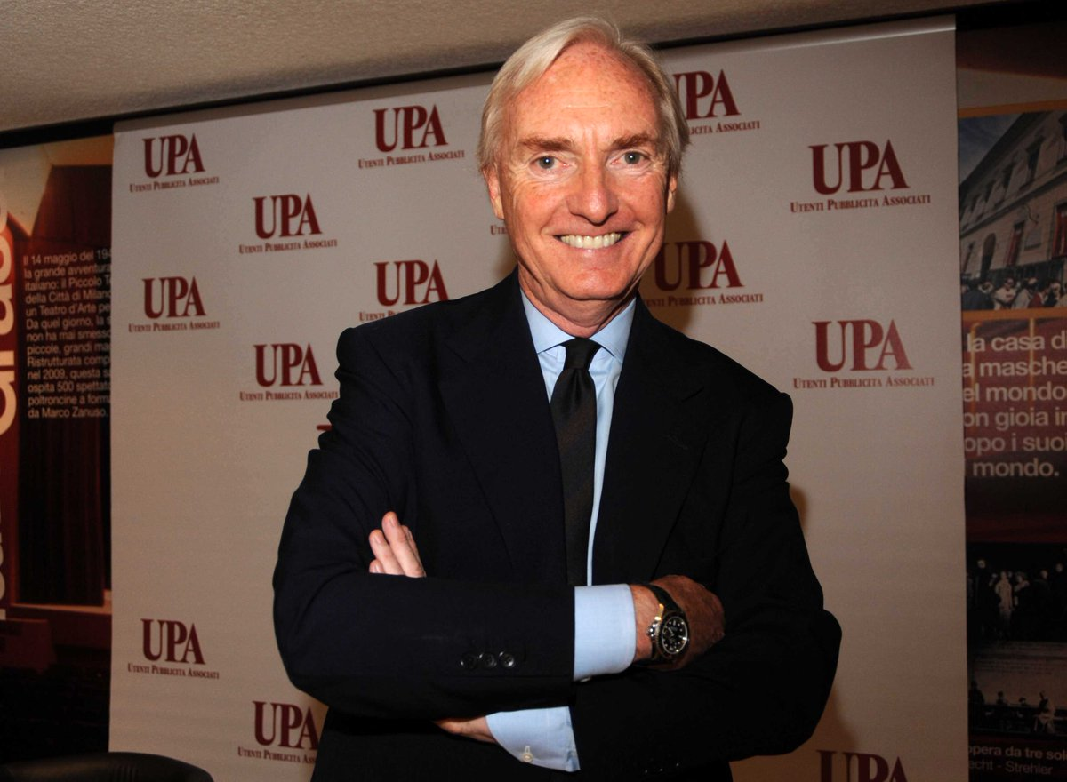 Foto Lorenzo Sassoli de Bianchi presidente dell'Upa (Utenti pubblicità associati)
