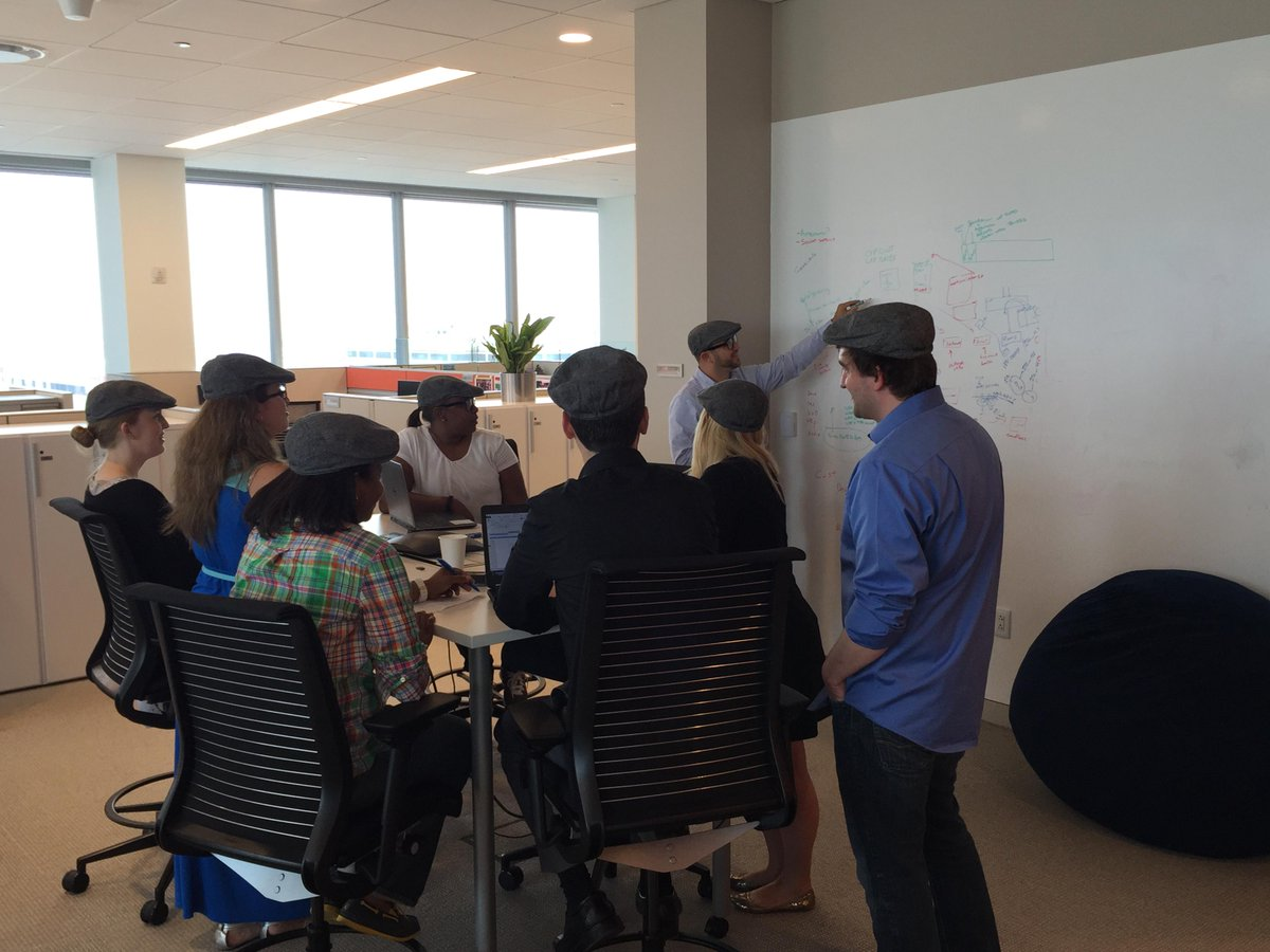 What does the team do when looking for inspiration?  Put on a Dr. Wu hat! @LithiumTech #WhiteBoardingInStyle http://t.co/iSmz2Gkqys