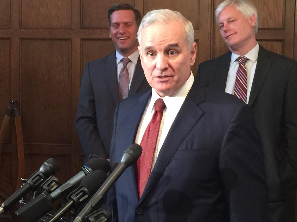 Thumbnail for Gov. Dayton Insists on no Changes to Special Session Bills
