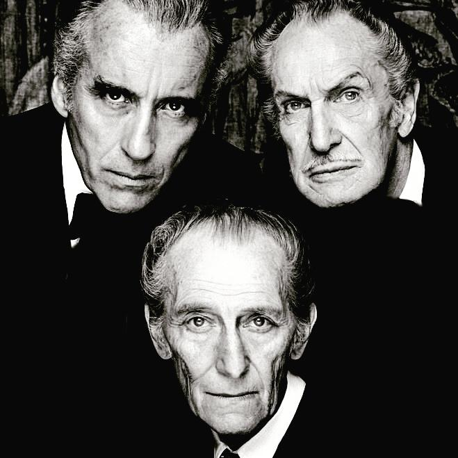 The BAT PACK is now complete once more. RIP Christopher Lee. #horror #christophlee #hammerhorror #actors #dracula http://t.co/DdGWnkI8jp