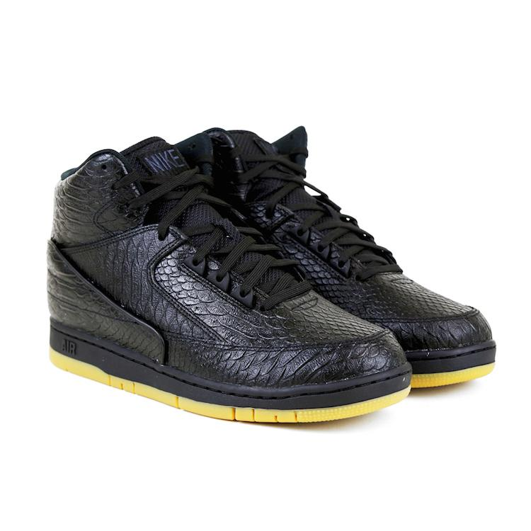 brand new 64990 7739a the nike air python prm black gum is availablenow