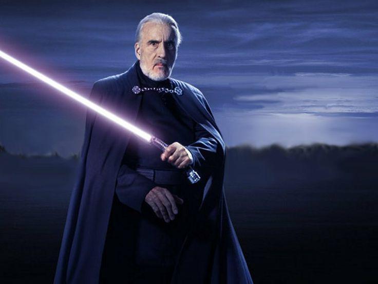 Le côté obscur de la Force est en deuil, le comte Dooku nous a quitté :( #RIPChristopherlee #StarWars http://t.co/vPfZaCA1UB