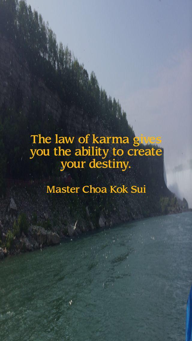 The Ochre Tree On Twitter Quotes Unfoldapp Mcks Karma Destiny