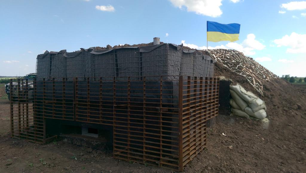 """Возведение фортификаций на востоке Украины идет """"полным ходом"""" и по графику, - Коваль - Цензор.НЕТ 2563"""