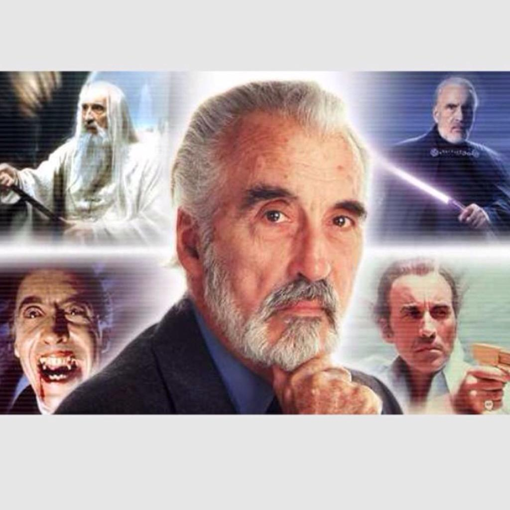 RIP Sir Christopher Lee. Thank you for sharing your craft & talent. Your villains, and you, will be sorely missed. http://t.co/8NVU9HZvEs