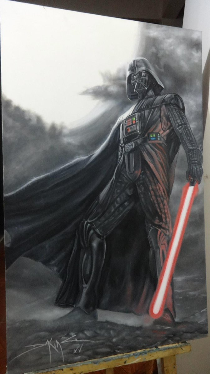 Daking Y On Twitter Darthvader VADER Oil Painting By Art Tco 2psMBcdGZ3
