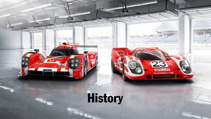 Este es el motivo por el que el Porsche #17 'viste' de rojo: el 917 que logró la primera victoria en #LM24 (1970) http://t.co/K1k5U1WRjh