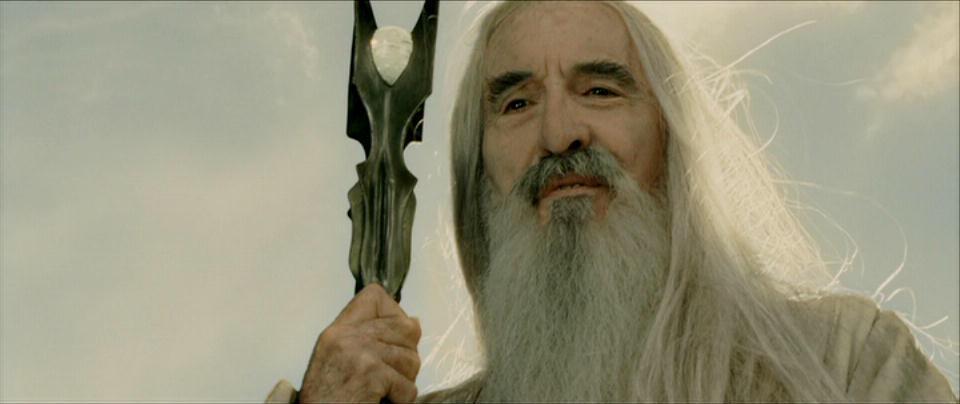 Cinema: Christopher Lee è morto - FOTO Film Il Signore degli Anelli