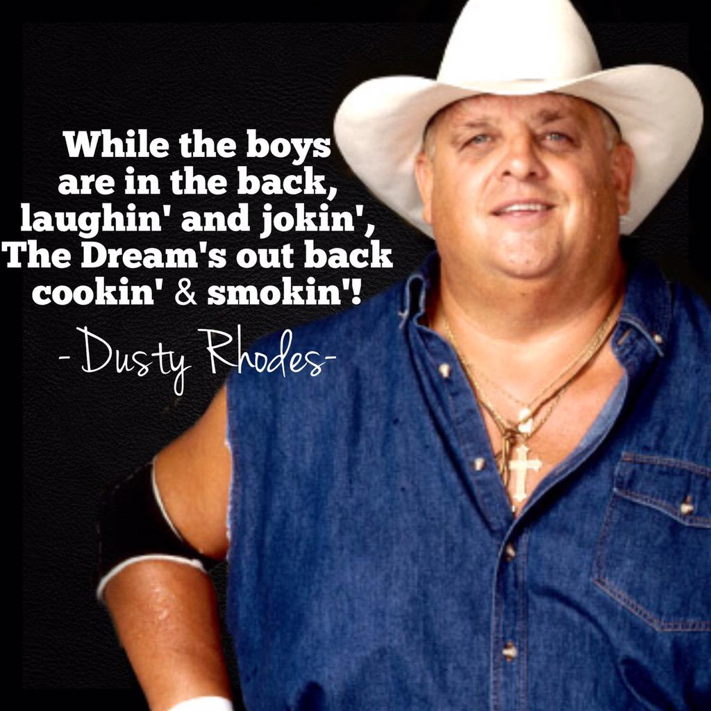 #RIP to a legend who's presence will be greatly missed. This man could say anything & get over.#Talented #DustyRhodes http://t.co/TMMiH7Evnm