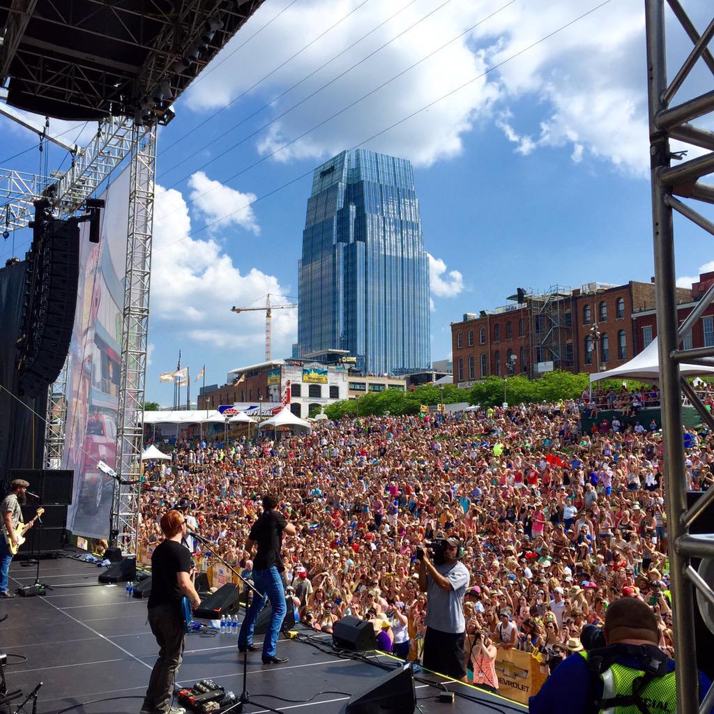Nashville today! @ScottyMcCreery #cmafest2015 @CountryMusic http://t.co/ASDPPHIQJg