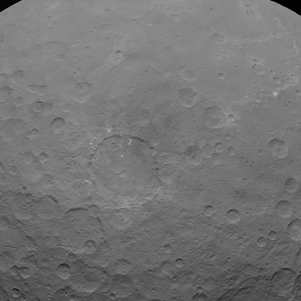 New pictures of dwarf planet Ceres which could hold alien life