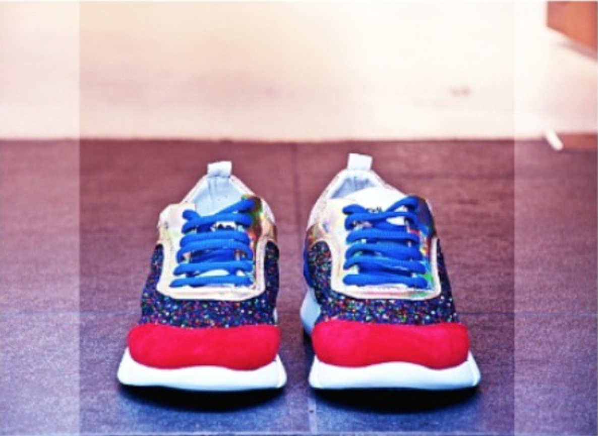 We just got in store 5 stunning #sneakers by #elenaiachi. Come and check them out ! Online next week ! pic.twitter.com/FkmL3xhMcP