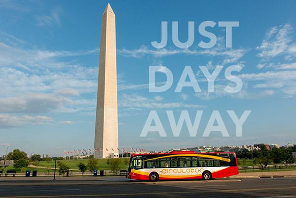 The National Mall route will begin service this Sunday, June 14, 2015. http://t.co/WeIyMXe9f1 http://t.co/SgIaxrmIs8