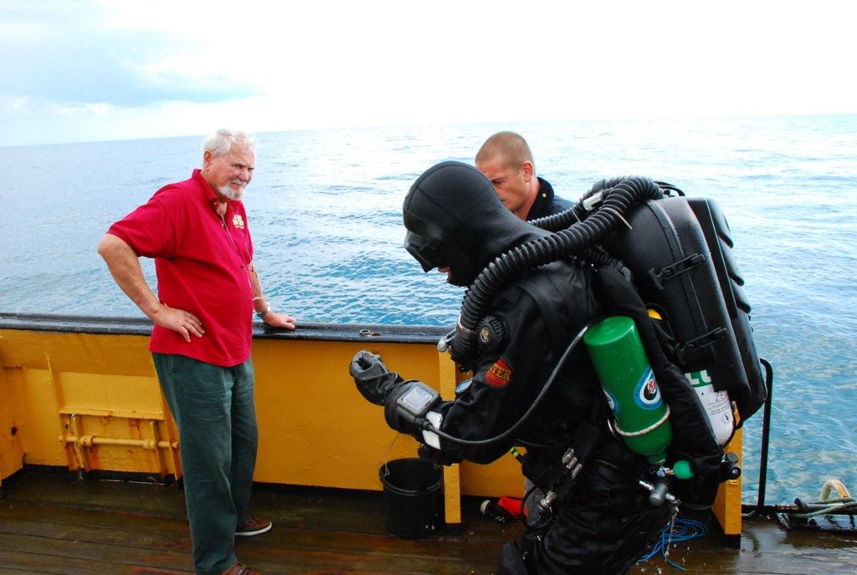 tbt 2010, in search for the elusive Bonhomme Richard off the England coast with NUMA divers.  #maritime #shipwrecks http://t.co/qkdl6zKzkW