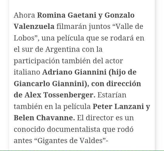 Valle de Lobos! @p_lanzani #valledelobos #cine FELIZ!