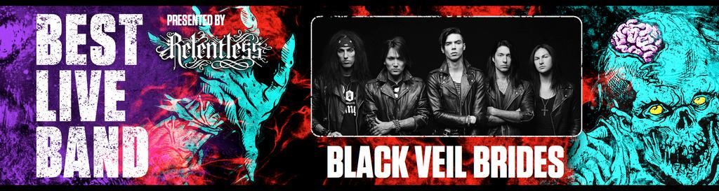 Best Live Band next! The award goes to... @blackveilbrides! Who's seen these guys live? #RelentlessKerrangAwards http://t.co/SGRrqxzaWC