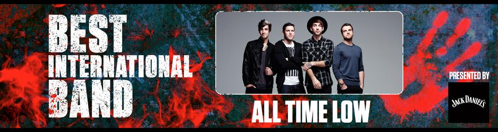 Best International Band goes to.... @AllTimeLow! @JackAllTimeLow @AlexAllTimeLow #RelentlessKerrangAwards http://t.co/WHwoPL0oBT