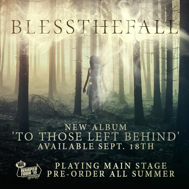 Excited to announce or new album #ToThoseLeftBehind will be released on Sept. 18th! http://t.co/W98DAWHCu1