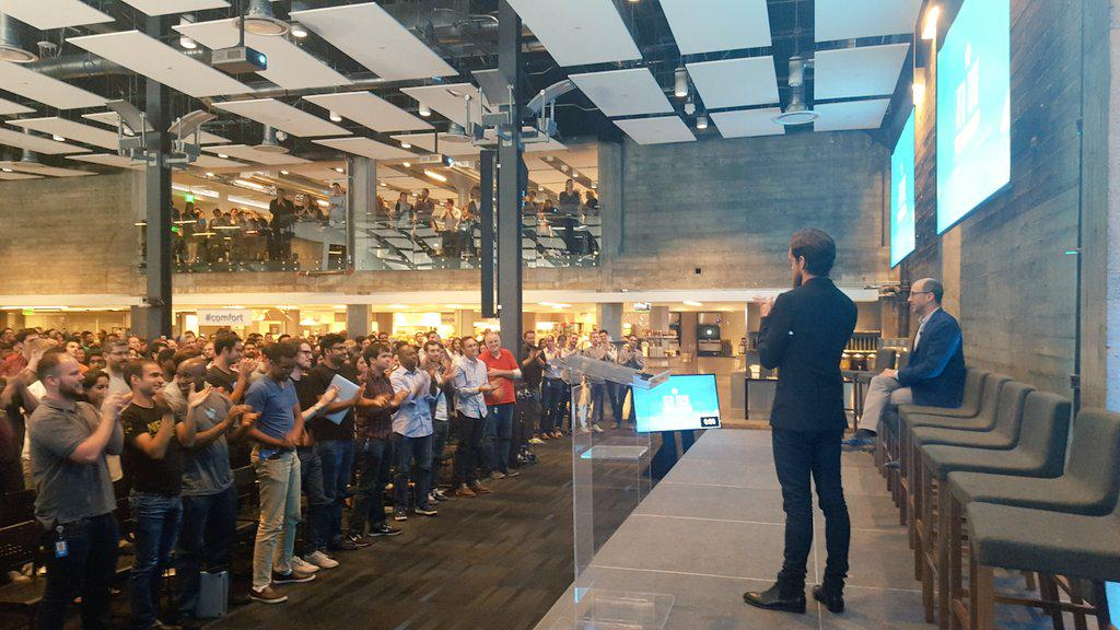 Thumbnail for Past and former Twitter employees flood Twitter with messages for Dick Costolo