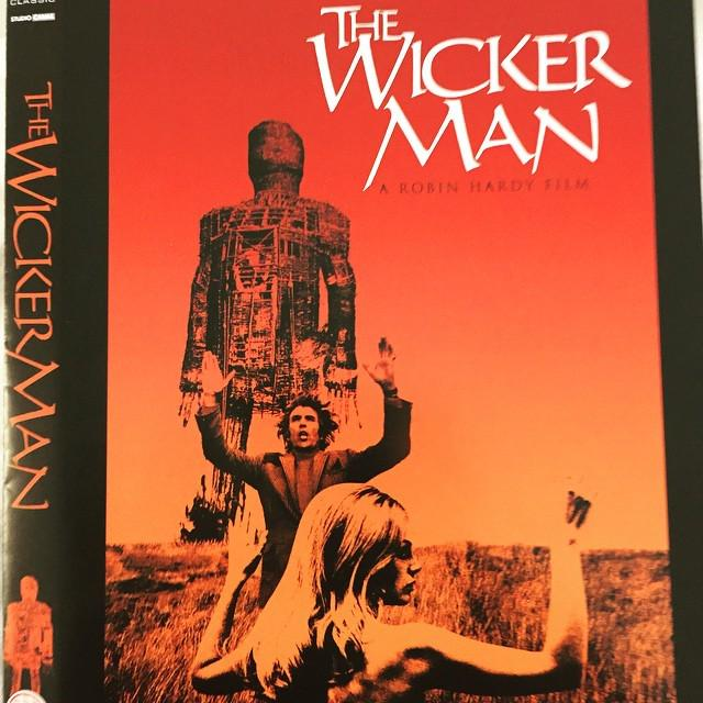 The Wickerman with the great Christopher Lee! http://t.co/n3ODQRr43H