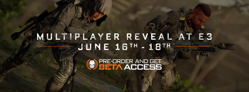 Ready up - #E32015 inbound. RT to let the world know. #BlackOps3