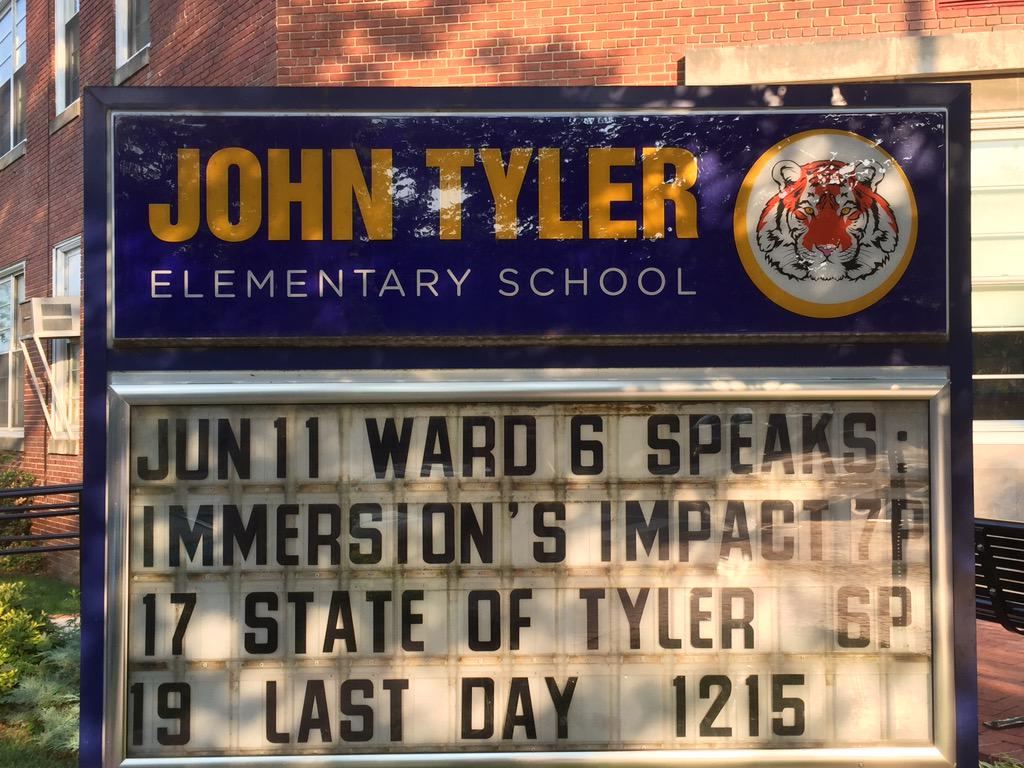 We're getting ready! It's not too late to come join us at Tyler Elementary 1001 G St SE. http://t.co/N05wo0VSCW
