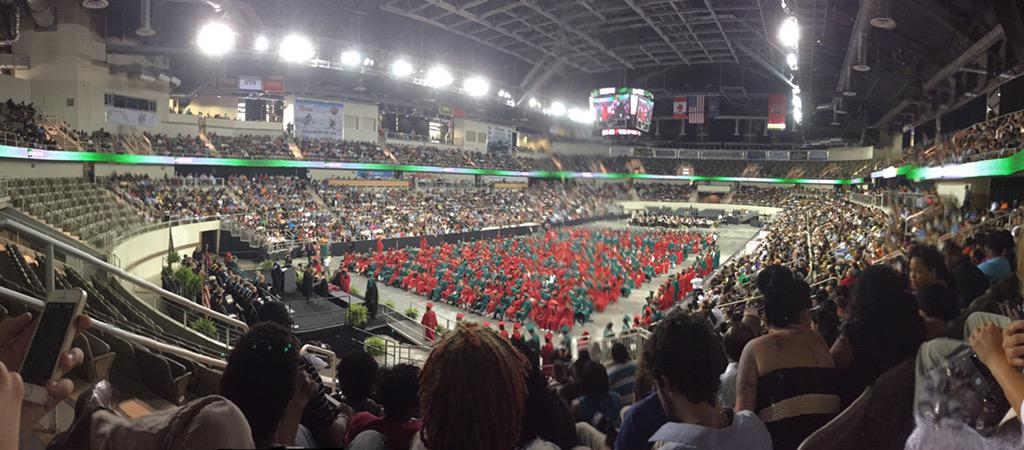 The panorama view, here's to a new beginning for the class of 2015 http://t.co/TbQHfrslx3