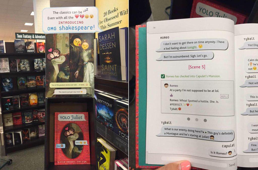 YOLO Juliet: Shakespeare Translated into Textspeak and Emojis