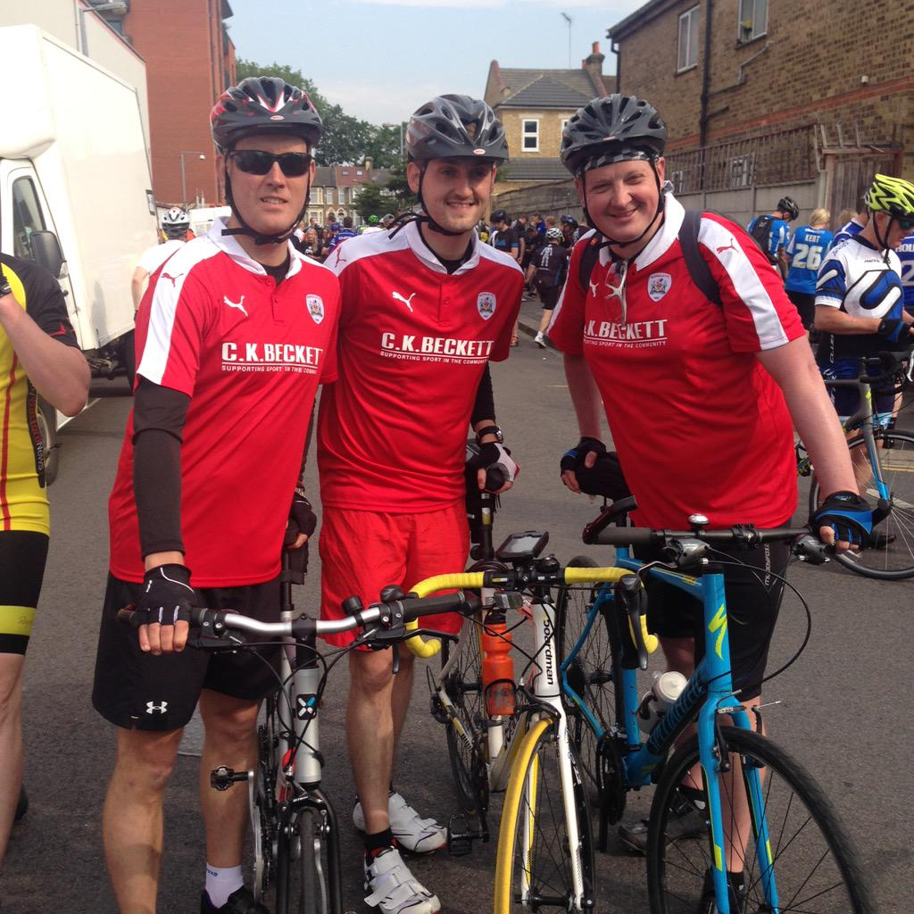 The @bfc_official boys in good spirits before the #L2A trip... http://t.co/VQ0CpSIheU