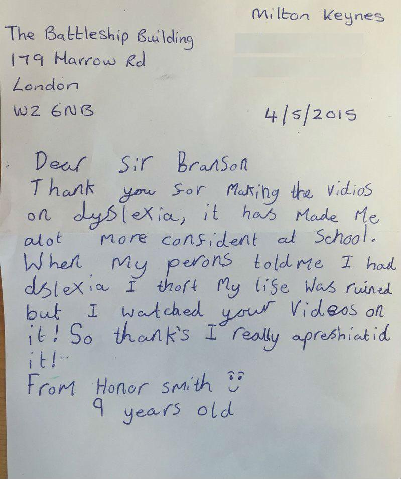 Richard Branson On Twitter Love Receiving Letters Heres What I