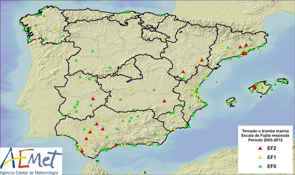Aemet online climatolog a de tornados en la espa a peninsular y baleares - Tornados en espana ...