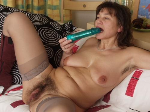 Vicki giving dad a blowjob