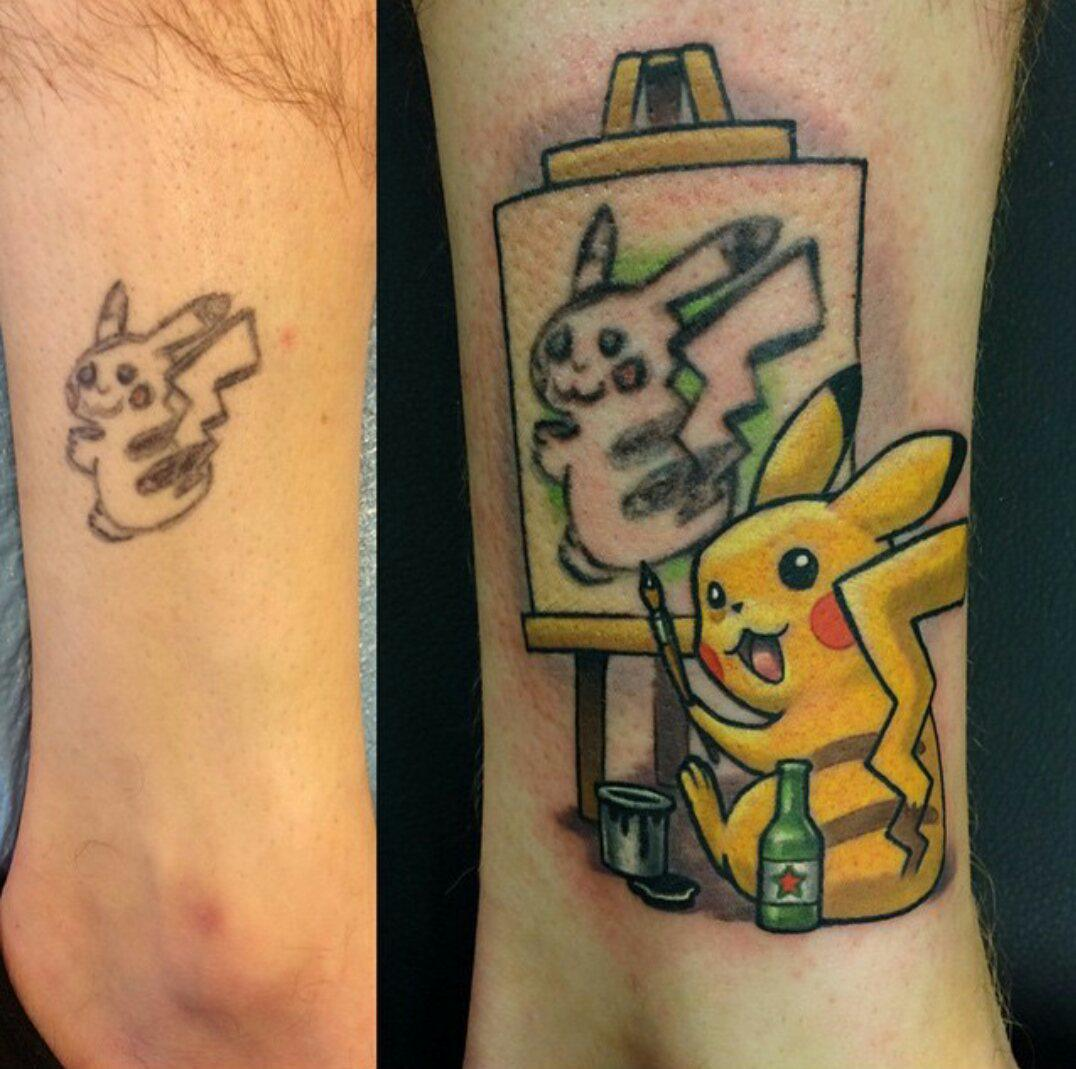 This tattoo cover up is GREAT http://t.co/zJ4eZQ5Sa3 http://t.co/256IWJfS3V