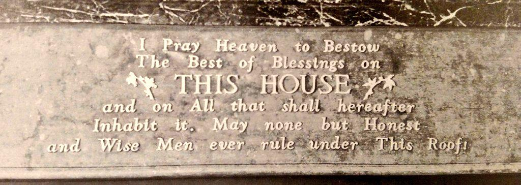 FDR Had This John Adams Quote Carved On The Fireplace Of White House State Dining Roompictwitter X4UjdxLk0L