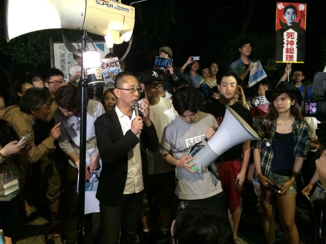 【ウヨ悲報】昨日の国会前の安倍政権抗議デモがガチで若者ばっかりと話題に
