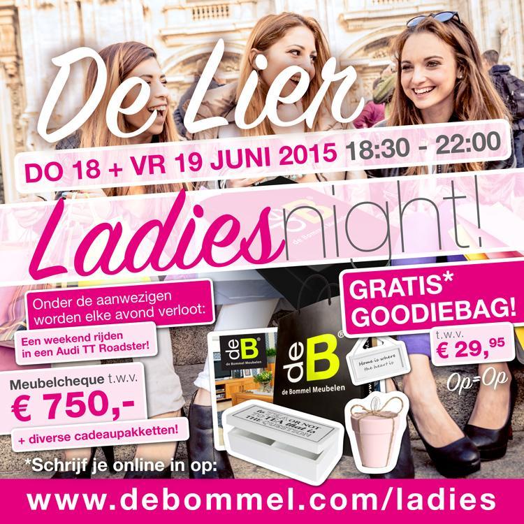 Bommel De Lier.De Bommel Meubelen On Twitter Ladiesnight Bij De Bommel De