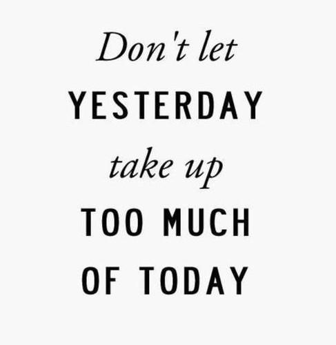 Remember #writers; Don't let yesterday take up too much of today... #WritingTips #WritersLife http://t.co/5TV1Boafw7