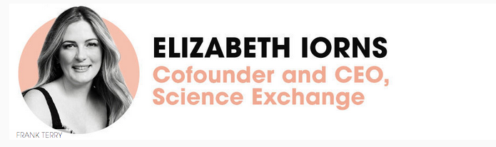 Congratulations to Elizabeth Iorns, our co-founder & CEO - one of Elle's 2015 Women in Tech! http://t.co/jnqMORFyNs http://t.co/GOIEiIJaMf