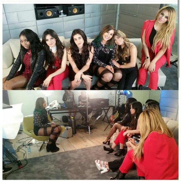 #Harmonizers @FifthHarmony are chatting to @StefanieFaleo tonight at 7pm! Are you going to tune in?? http://t.co/p8qjsAk2Pr