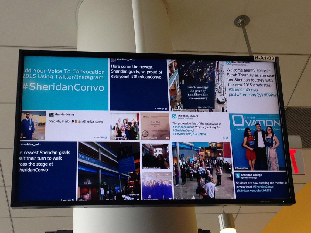 Amazing live feed from #SheridanConvo #LoveIt @sheridancollege http://t.co/K5a0OX83WI