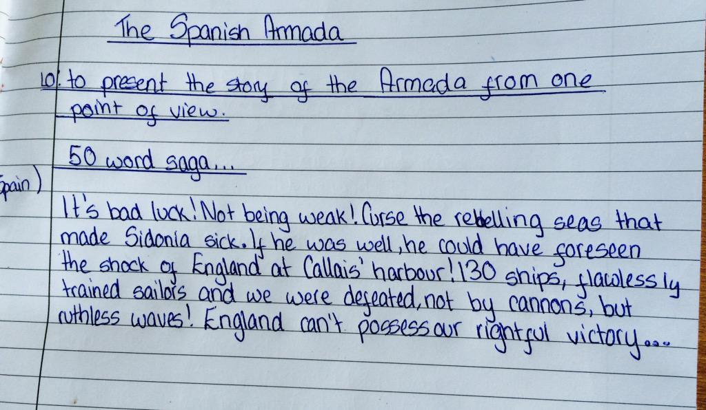 Writing skills: Mini saga