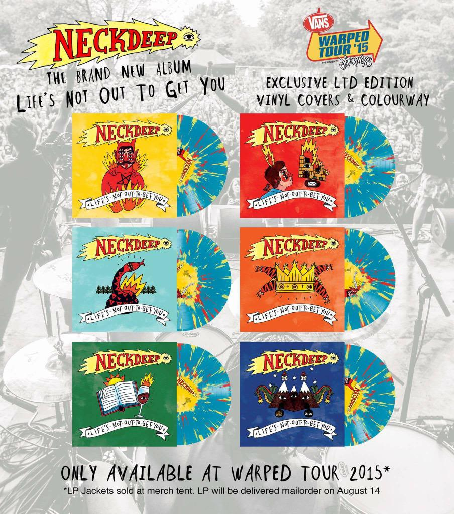 Po Neck Deep Life S Not Out To Get You Page 2 Vinyl