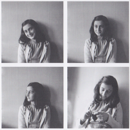 """""""I can shake off everything as I write; my sorrows disappear, my courage is reborn.""""-Anne Frank, born today in 1929. http://t.co/C6vnnSGIxQ"""