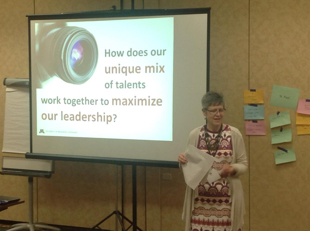 Educator Jody Horntvedt following up with combining strengths to make the most of leadership. http://t.co/1ny2AUc2Xe