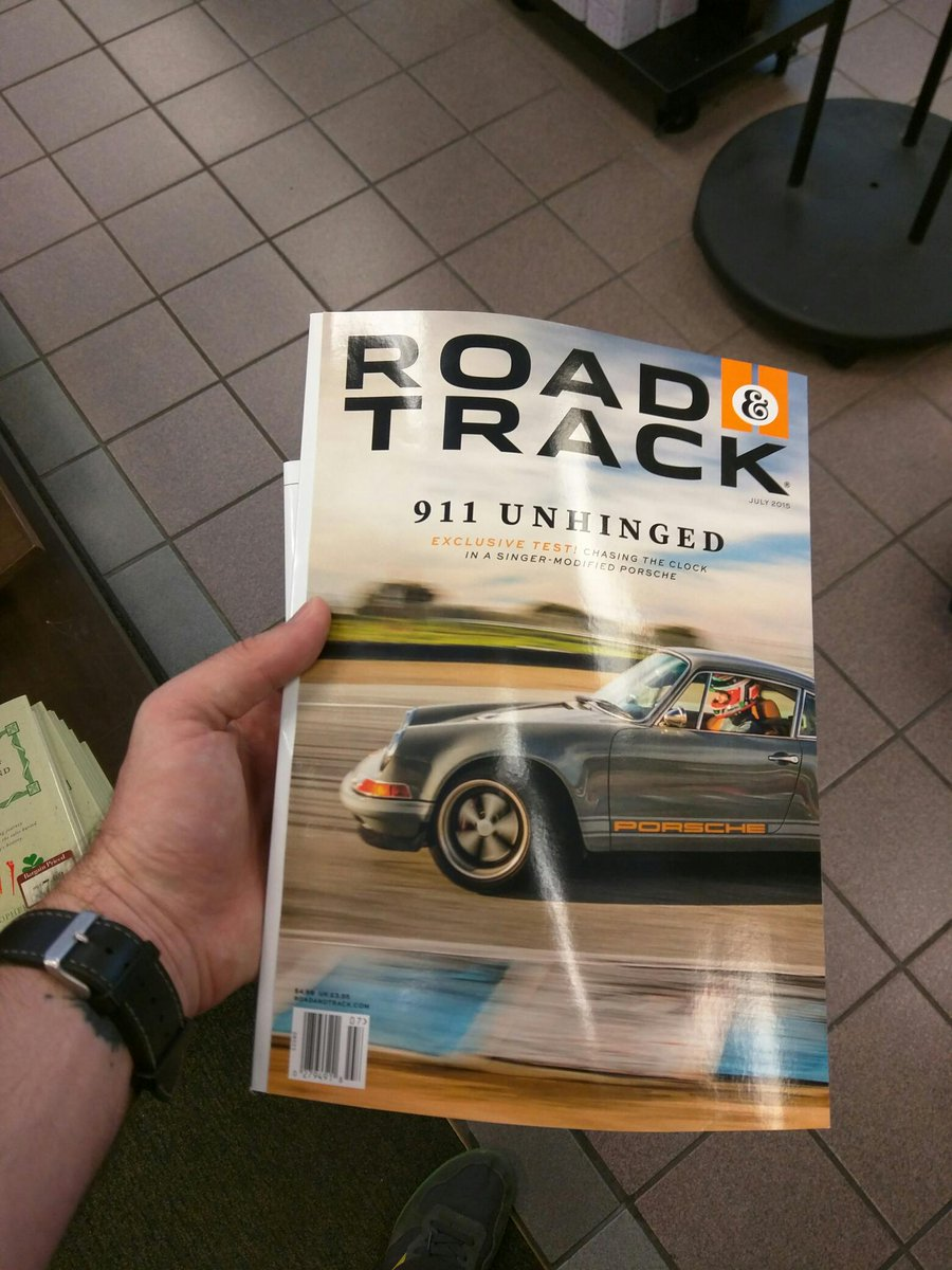 Had to pick this one up in print. @ThatSamSmith @RoadandTrack http://t.co/XRwm1m9b1w