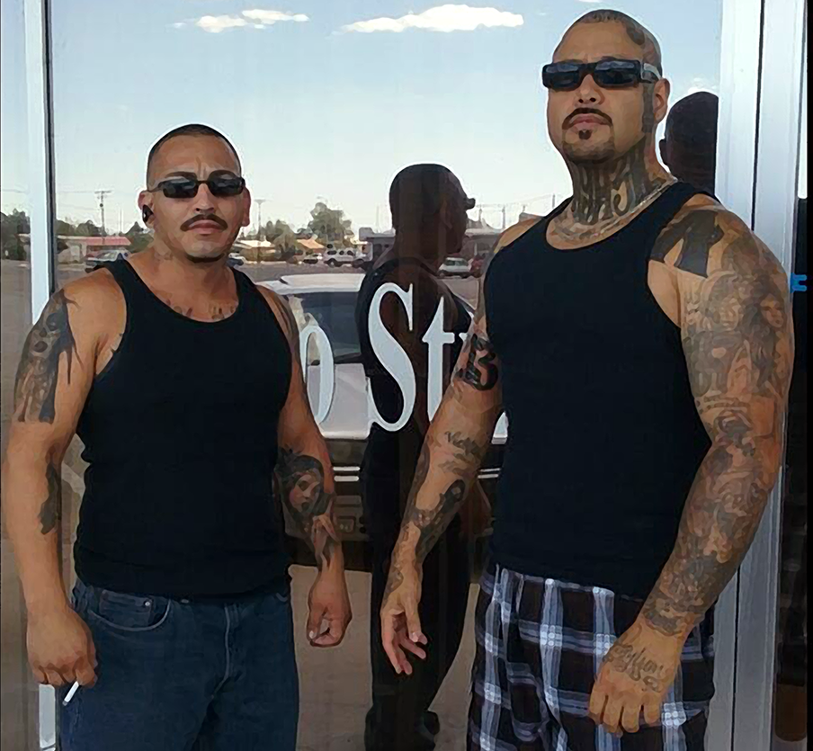 Og big loko on twitter posted upwith the homie at the for Inkfatuation tattoo shop bakersfield