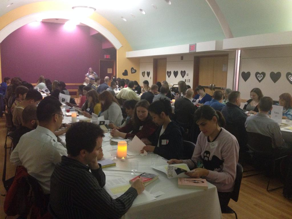 toronto public library speed dating